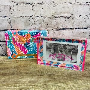 Lilly Pulitzer picture perfect photo frame 4x6